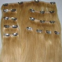 100% virgins human hair 10 pcs per kit